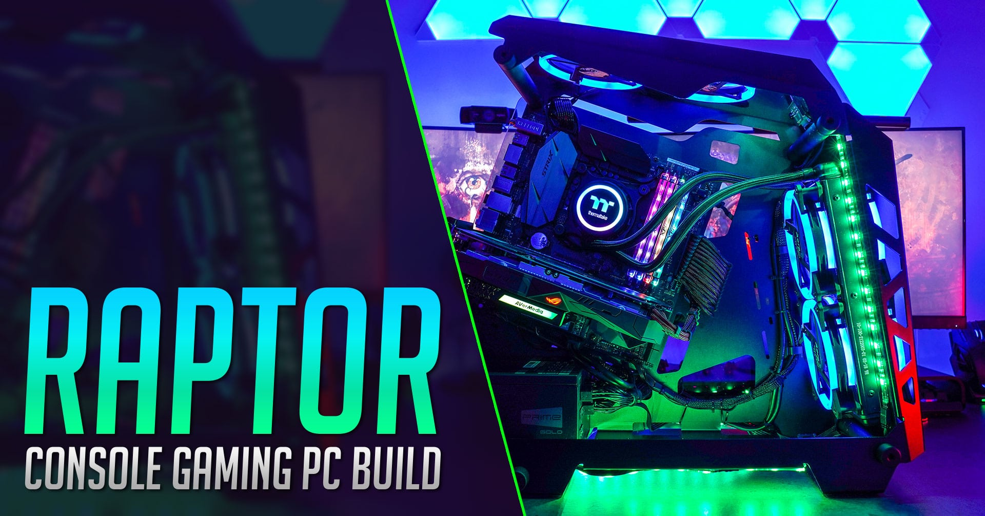 RAPTOR Ultimate Console Gaming PC Build