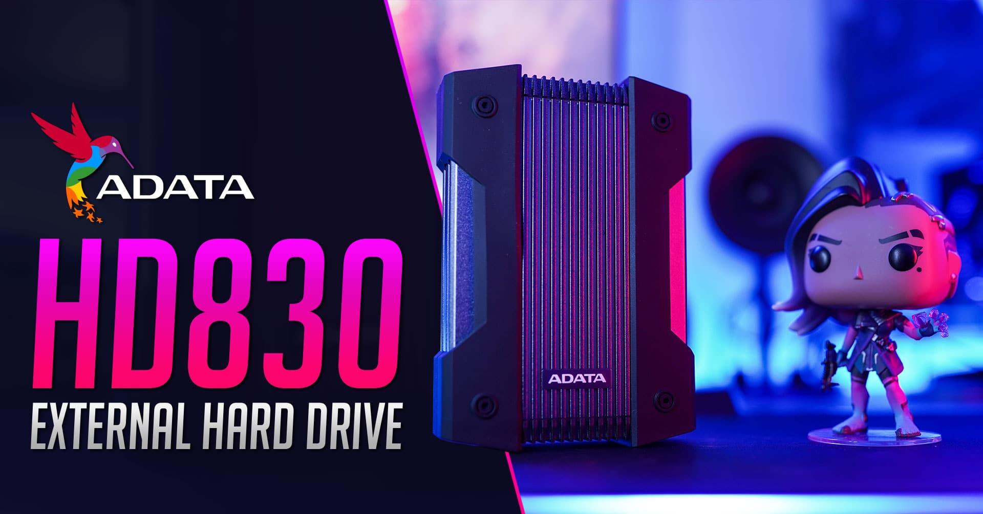 ADATA HD830 External Hard Drive Review