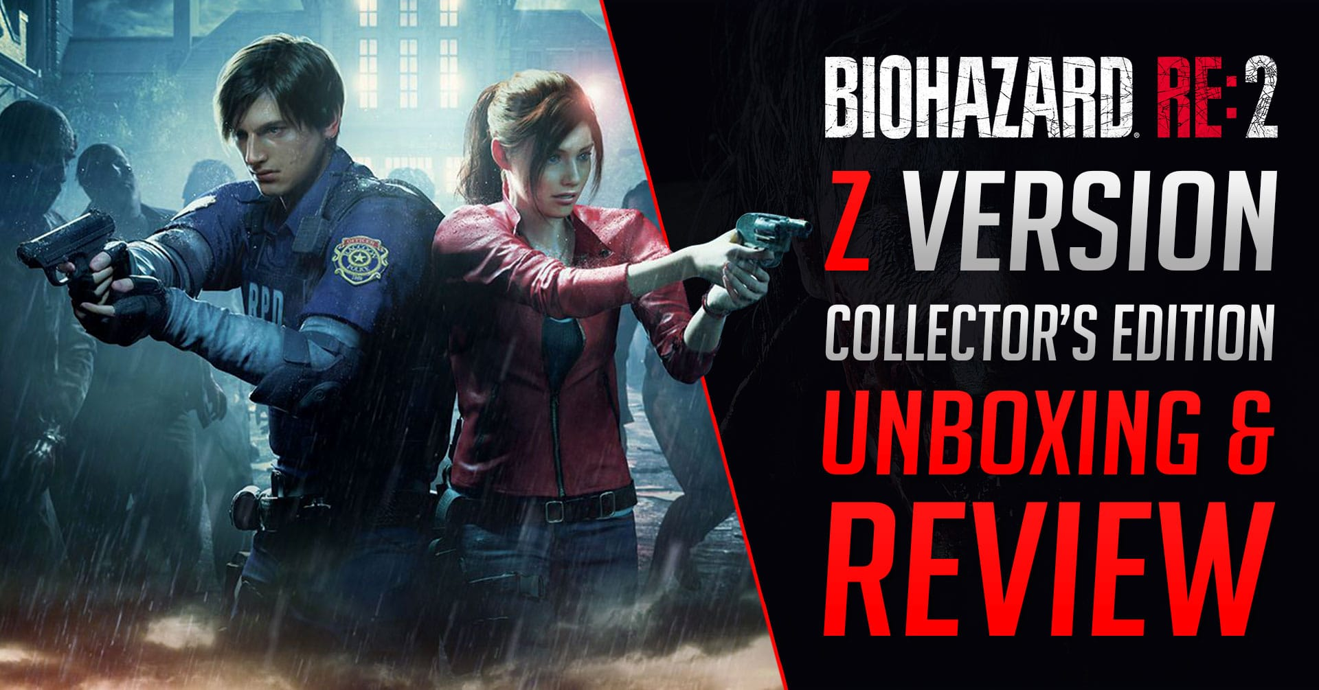 Resident Evil 2 Collector's Edition – Unboxing & Review